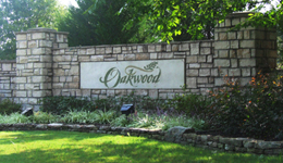 oakwood-sign